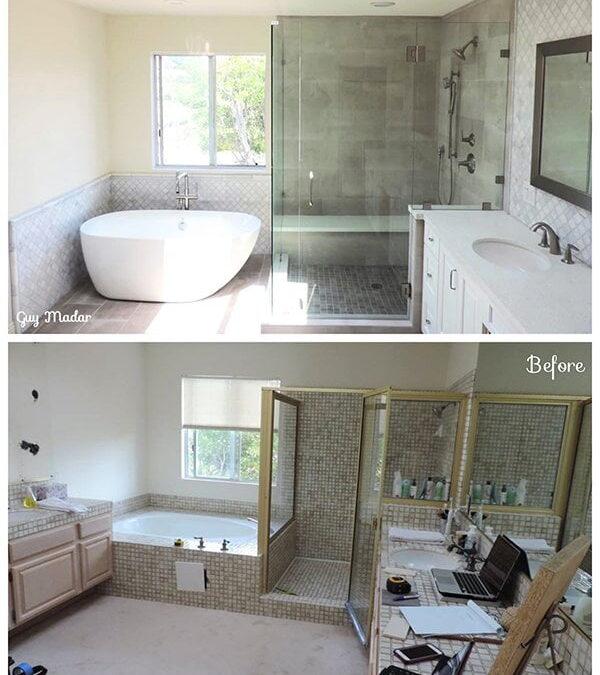 Bathroom Remodel Before After Lumina Builders Inc