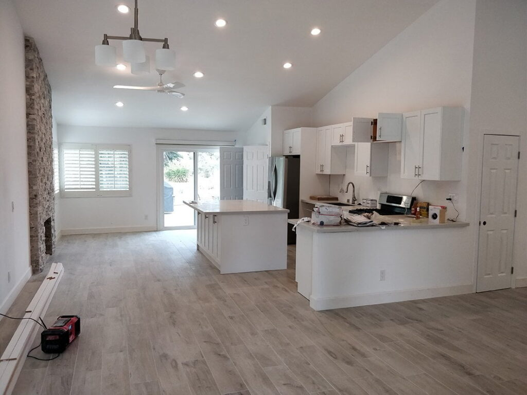 Custom kitchen remodel in San Diego