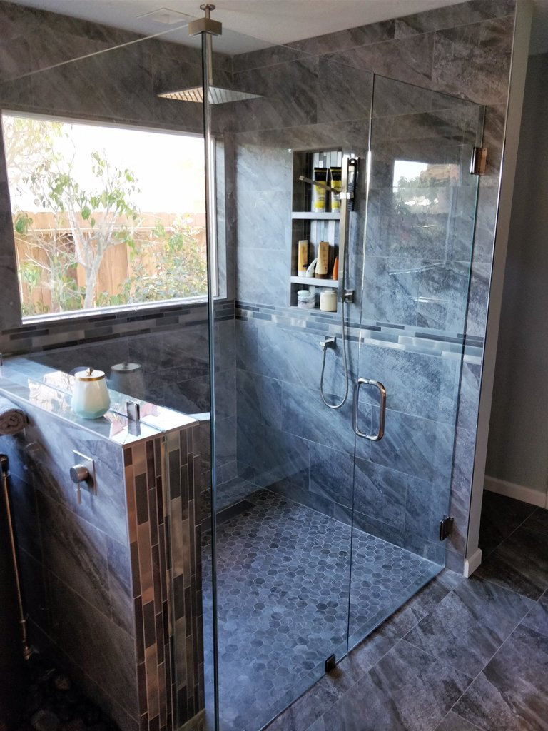 Solana beach bathroom Shower remodeling