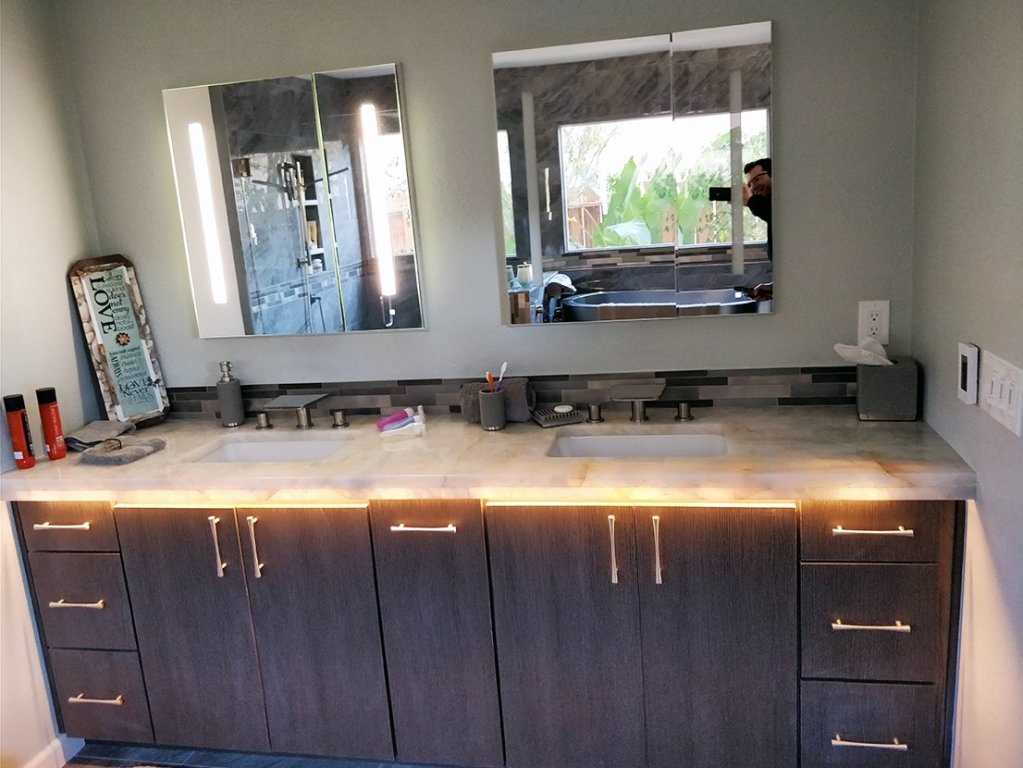 Solana beach master bathroom remodeling