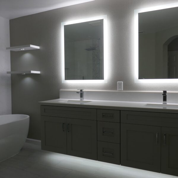 Modern Bathroom Transformation 92130